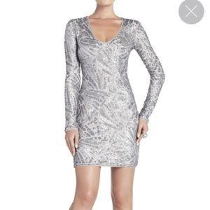 BCBGMaxAzria Glacier Combo color Morris Dress NWT